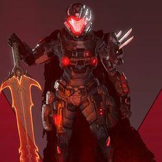 Armor Concept, Concept Art, Realistic Games, Halo Armor, Halo Reach, Sci Fi Armor, Art Station, Big Boys, Cyberpunk