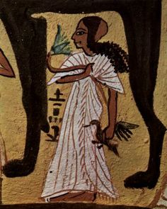 The dresses worn by Ancient Egyptian women were often pleated, and usually covered either one shoulder or both.