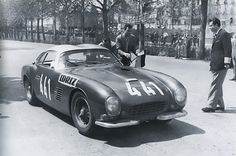 This Zagato-bodied Ferrari 250 CT LWB managed 6th overall in the 1957 race.