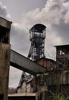 Těžní věž bývalého dolu Hlubina