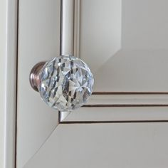 Luxury Oil Rubbed Bronze Glass Cabinet Knobs