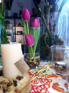 Tulips in Zelinda Milano - special corner in Barcelona-