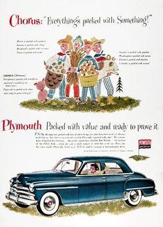 1950 Plymouth Sedan
