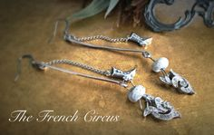 cinderella earrings  vintage art deco by TheFrenchCircus on Etsy