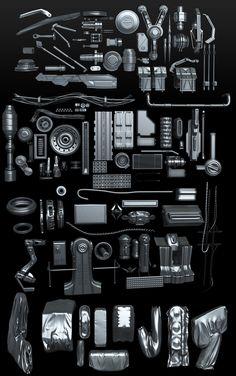 KB stuff by David Lesperance   Sci-Fi   3D   CGSociety