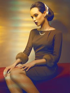 Fashion and Beauty Photography by Thomas Mocka, via Behance
