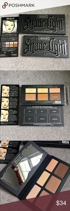 Kat Von D shade + light contour palette Brand new, never used, authentic Kat Von D shade + light contour palette. Such a great and easy to use palette! Good for any experience level! Kat Von D Makeup