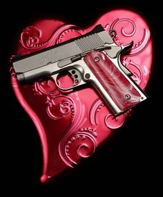 A Kimber .45 caliber pistol at Big Boys Guns and Ammo in Oklahoma City. strongSteve Gooch - The Oklahoman/strong
