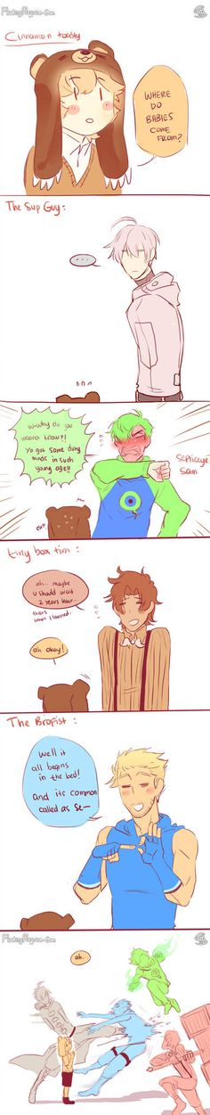 Where do babies come from? by FloatingMegane-san Tiny Box Tim