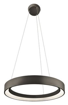 "23"" ROUND RING DIMMABLE LED PENDANT :: LARGE PENDANTS :: Ceiling lights Toronto, Bath and vanity lighting, Chandelier lighting, Outdoor lighting and kitchen lights :: Union"