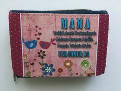 """Portemonnaies - Geldbörse """"MAMA...und immer da"""" - ein Designerstück von Fotokartenundmehr bei DaWanda"""