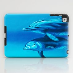 Dolphin iPad Case by Bocese - $60.00