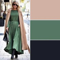 Colour Combinations Fashion, Color Combinations For Clothes, Color Blocking Outfits, School Fashion, Fashion Wear, Hijab Fashion, Fashion Dresses, Colourful Outfits, Colorful Fashion