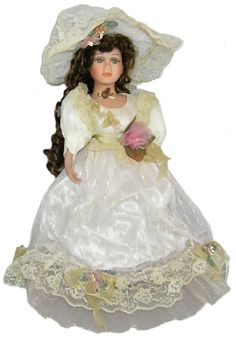 Victorian Porcelain Doll-Stunning Victorian doll-Porcelain Victorian Doll-Ellen