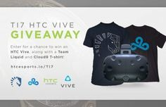 HTC is Giving Away a Vive to Celebrate The International Dota 2 Championship