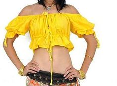 BellyLady Belly Dance Tribal Top #BellyLady