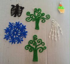 Colourful Crafter: A few new things I've made today 3Doodler