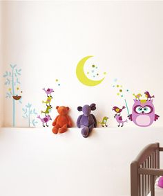 Take a look at this Owl & Co Wall Decal Set on zulily today!