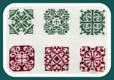 PDF Biscornu patterns Petites grilles - série N° 13 - Le blog de Louison