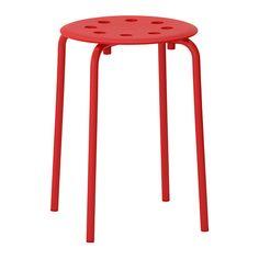 IKEA - MARIUS, Tabouret, Le tabouret est empilablepour en garder plusieurs à portée de main sans occuper trop de place.