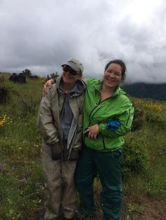 Patty and Alessa. - Weed Rodeo 2014 #mtsthelens