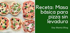Otra forma de preparar la masa de la pizza: sin levadura. Económica, pocos ingedientes, y mucho más rica que la preparada en la pizzería!