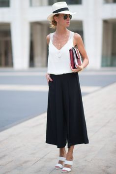 NYFW Street Style Day 2: Summer sophistication looks just like this.