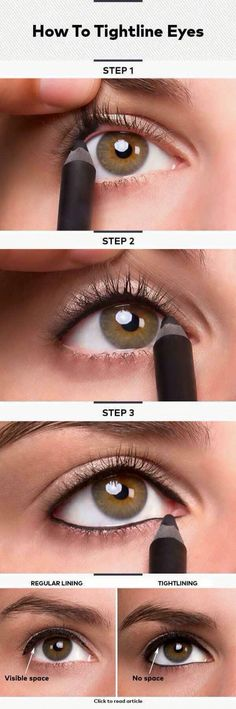 tighten your eyeliner