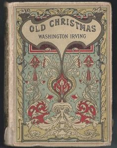 Charles Pears Old Christmas Washington Irving Art Nouveau Collins Antique Book   eBay