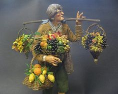 """figure of  terracotta and fruits of colored wax Please don't just add the photos as your favourites.....make a little comment/testimonial....it doesn't take more than 30 seconds!! otherwise you'll be BLOCKED. Non mi piacciono le persone che aggiungono le mie foto come """"favourite"""" senza mettere alcun commento!!!"""