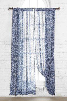 Magical Thinking Star Tile Curtain
