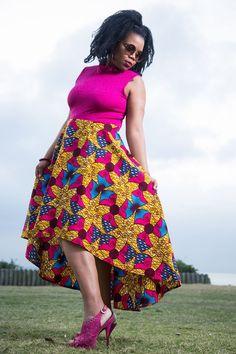 Afrokulcha shop online at www.afrokulcha.com #afrokulcha #africanfashion African Attire, African Fashion Dresses, African Print Clothing, Kitenge, African Women, Ankara, Wax, Short Dresses, Women's Fashion