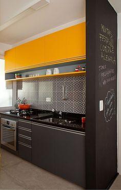 50 Cozinhas pequenas decoradas e planejadas - Viva Decora