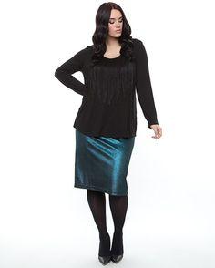 Harlow - Studio 54 Midi Skirt-Teal, $79.95 (http://www.harlowstore.com/new-arrivals/studio-54-midi-skirt-teal/)