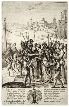 Wenceslas Hollar - Aeneas's farewell to Andromache