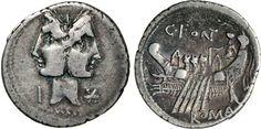 NumisBids: Numismatica Varesi s.a.s. Auction 65, Lot 71 : FONTEIA - C. Fonteius (114-113 a.C.) Denario. B. 1 Syd. 555 ...