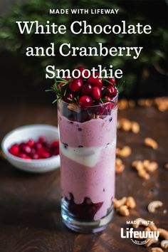 It's an indulgent and tangy blend of cacao butter, cashews, cranberries, maple syrup, and our probiotic cranberry crème brûlée kefir. Healthy Food Choices, Healthy Fats, Cream Soda, Ice Cream, Cranberry Smoothie, Prebiotics And Probiotics, Farmers Cheese, Frozen Cranberries, Probiotic Foods