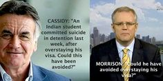 Truly despicable, Mr Mossison. How low can you get? Source: http://www.abc.net.au/insiders/content/2013/s3945746.htm #auspol #australia #scottmorrison #barrycassidy #insiders #abcaus #abcaustralia #abcnewsaus