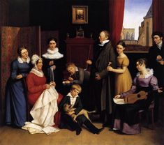 Karl Joseph Begas, Portrait of the Begas family, 1821 Web Gallery Of Art, Painting Still Life, Family Painting, Edouard Manet, Museum, William Adolphe Bouguereau, Oil Painting Reproductions, Paintings For Sale, John Singer Sargent