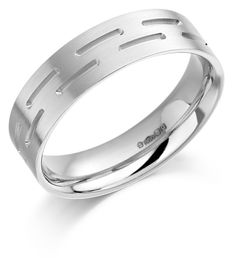 Be different.   The #Platinum 6mm Donya #wedding #ring   #jewellery #jewellers #weddingring #HattonGarden #London