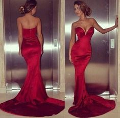 Xoxo doll house red evening dress silk