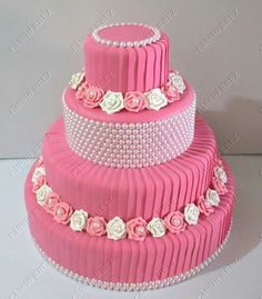 66 Ideas Cupcakes Fondant Birthday Pink For 2019 Fondant Cupcakes, Cupcake Cakes, Pretty Cakes, Beautiful Cakes, Amazing Cakes, Birthday Cake Girls, Birthday Cupcakes, Celebration Cakes, Birthday Celebration