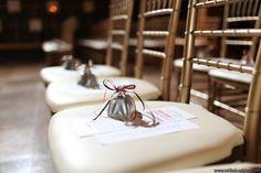 NYE cow bells | Wedding Favor Inspiration | North Carolina Wedding Planner | Leigh Pearce Weddings | Whitebox Photography
