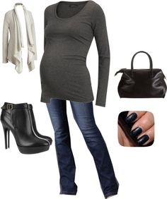 """""""Fall Maternity style"""" by rpetty on Polyvore"""