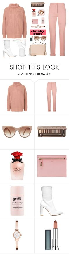 """rose"" by mimsaj ❤ liked on Polyvore featuring Barena, Etro, STELLA McCARTNEY, Urban Decay, Dolce&Gabbana, Martha Stewart, Tom Ford, philosophy, Stuart Weitzman and DKNY"