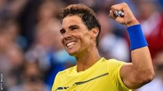 Rafael Nadal will become world number one if he progresses to the semi-finals in Canada Rafael Nadal and Roger Federer both won their opening matches at the Rogers Cup in Montreal. Top seed Nadal 31 who will claim the world number one spot from Andy Murray if he reaches the semi-finals in Canada beat Borna Coric 6-1 6-2. Murray pulled out of the competition with a hip injury which has also ruled him out of the Cincinnati Masters. Federer playing in his first match since winning the Wimbledon…
