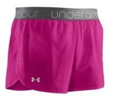 CHEAP! Womens Under Armour UA Running Shorts Heatgear