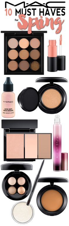 The Best 10 Mac Cosmetics Products For Spring