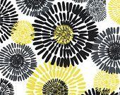 BATH Cote d'Azur in Citron, Michael Miller fabric, 1 yard