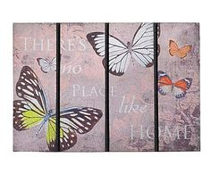 Felpudo Eco Master Butterfly's home - 60x40 cm
